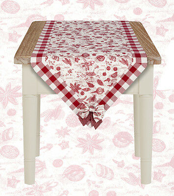 Runner a Punta Country Chic Collezione Toile Spezie Angelica Home & Country 50 x