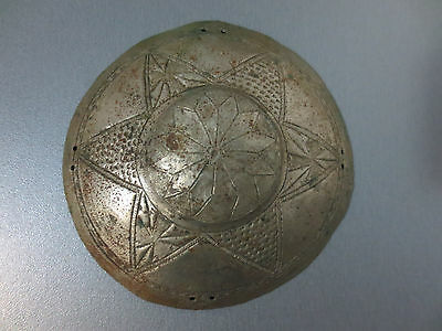 Gorgeous Antique Silver Head Bridal 19th C Ottoman Folklore - Extremely RARE - 2