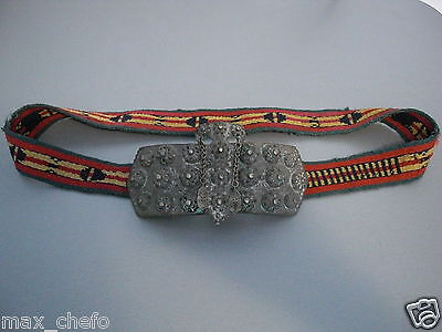 TOP PRICE!LARGE 18th.C. ANTIQUE OTTOMAN BRONZE BELT BUCKLE ORIGINAL Islamic RARE