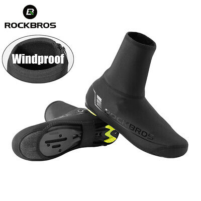 RockBros Cycling Shoe Cover Warm Windproof PU Protector Overshoes Waterproof