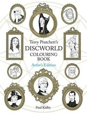 Terry Pratchett's Discworld Colouring Book: Artist's Edition by Paul Kidby Paper