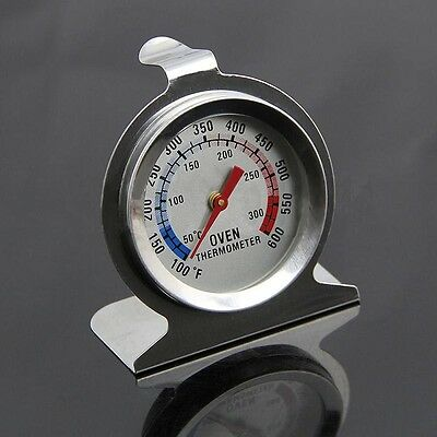 Oven Cooker Thermometer Temperature Gauge Stainless Steel 300ºC 600ºF Kitchen