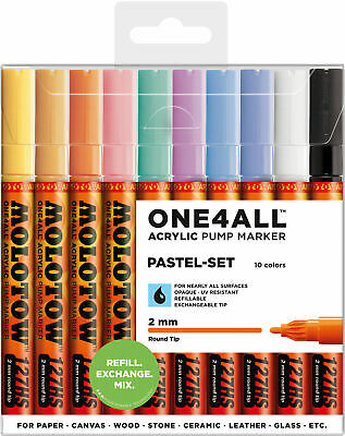 Molotow - One4All Acrylic Marker 127 Hs, Pastel-Set