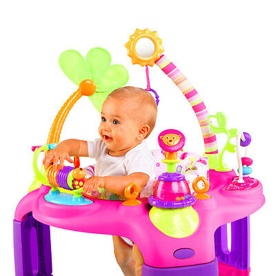 Bright Starts Sweet Safari Bounce A Round Entertainer Baby Infant Toddler Gear