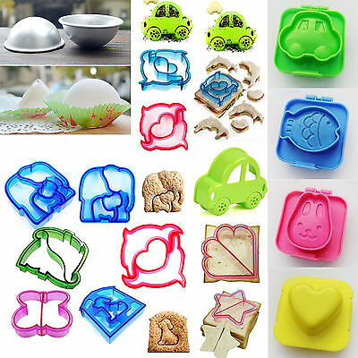 16 Patterns Kid Lunch Sandwich Toast Cookies Cake Bread Biscuit Food Cutter Mold