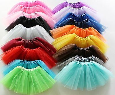 AU Seller 3 LAYER TUTU Kids Girl Ballet Dance SKIRT Costume clothing for Party