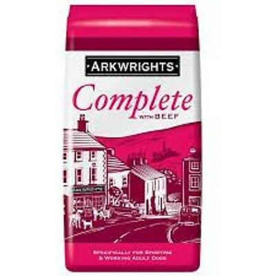 Arkwright's Complete BEEF 15KG complete dog food dry kibble