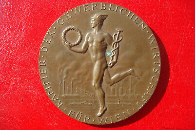 OLD Chamber of the Commercial Economy of Vienna For Loyal Dedication 1976 MEDAL