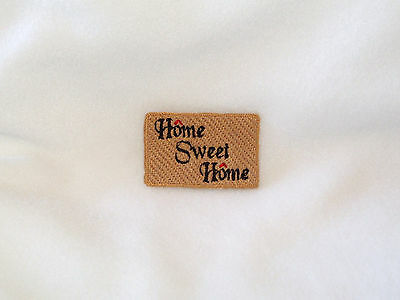 1:12 Scale Handmade Home Sweet Home Doll House Doormat