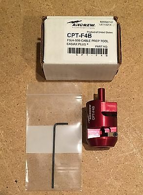 CommScope Andrew 1/2 Inch Cable Preparation Tool for FSJ4-50B Connectors