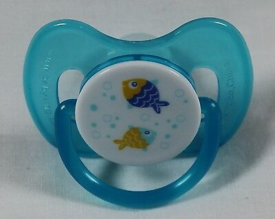 Reborn Baby Dolls OOAK Unisex Modified Putty Pacifier Swimming Sea Fish