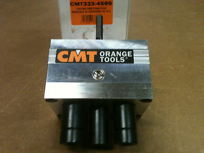 CMT333-4595 Hinge Drilling for 45/9.5 Blum, Salice, Häfele and Hettich Head Only