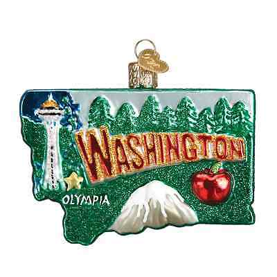 """State of Washington"" (36199) Old World Christmas Ornament"