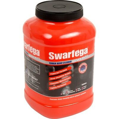 Swarfega Heavy Duty Hand Cleaner With Micro-polymer Granules & Conditioner 4.5L