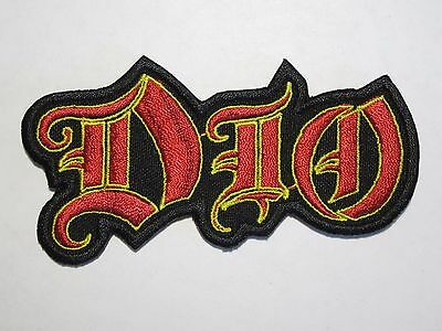 DIO embroidered NEW patch