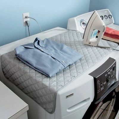 FOLDABLE EASY IRONING MAT- IRON ANYWHERE with MAGNETIC CORNER