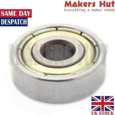 688ZZ 8mm x 16mm x 5mm Shielded Deep Groove Ball Bearing 688 ZZ