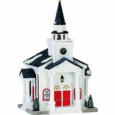 Lemax House 35861 United Church  Lighted  Building New 2016