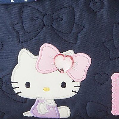 NEW Sanrio Hello Kitty Backpack Navy with Ribbon Size S from Japan