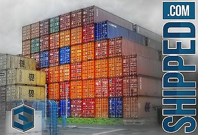 40' HIGH CUBE WIND & WATER TIGHT SHIPPING CONTAINER IN NY, Brooklyn & New Jersey