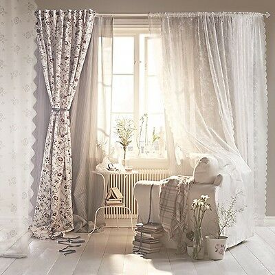 deko gardinen vorh nge bergardinen querbehang curtain nr 330 eur 149 00 picclick de. Black Bedroom Furniture Sets. Home Design Ideas