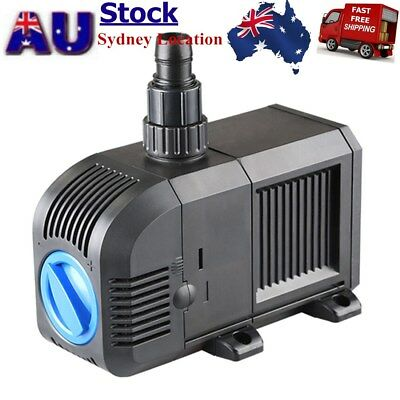 ECO 3000L/H Adjustable Water Pump Submersible Aquarium Aquaculture Water Pump