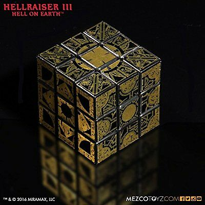 kb10 Pre-Order MEZCO Hellraiser 3 Le Marchand puzzle box cube From Japan