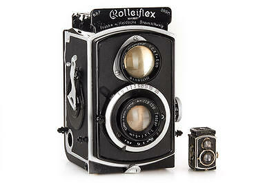 Rolleiflex 4x4 oversized display model Riesen Dummy Werbung 79653