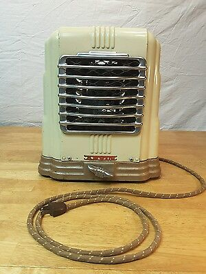 1947 Arvin Model 203A Portable Electric Heater Noblitt-Sparks Industries Indiana