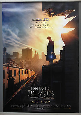 Cinema Poster: FANTASTIC BEASTS AND WHERE TO FIND THEM  2016 (Advance One Sheet)