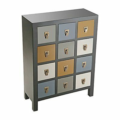 Versa - Chest/table ONTARIO with 12 drawers