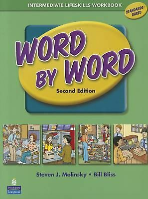 Word by Word Intermediate Lifeskills Workbook by Steven J. Molinsky (English) Pa