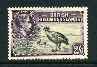 Solomon Islands 1939 KGVI 2/6d Birds SG 70 mint CV £32