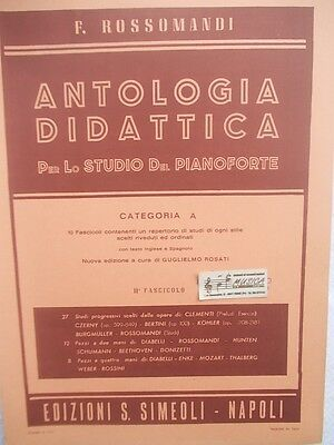 Guide For Lo Studio Technical Of Piano Embossing VIII Rossomandi Simeoli