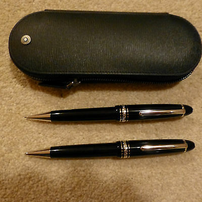 Mont Blanc Meisterstuck pen and pencil gift set