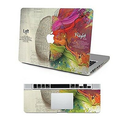 Removable Protective Full Cover Vinyl Art Sticker Cover for Apple MacBook Pro