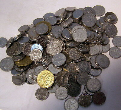 ** ONE POUND LOT - 10, 20, 50 Centavos - MEXICAN - MEXICO coins -- about 185 pcs