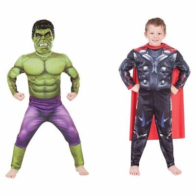 Thor To Hulk Avengers Deluxe REVERSIBLE Child Costume