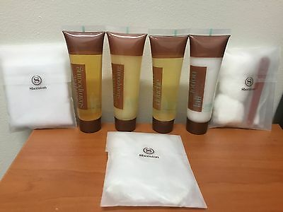 ** Wonderful ** 7pc Travel Toiletry Set Shampoo Conditioner Body LOTION