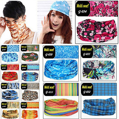 Spring Magic Head Face Mask Snood Neck New Outdoor Warmer Wrap Shawl Scarf #1-60
