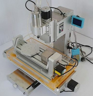 1.5KW 5 Axis CNC 3040 Table Type Engraving Router Machine Precision Ball Screw Y