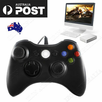 Game Controller Gamepad USB Wired Shoulders Buttons Joypad Xbox 360 PC Windows