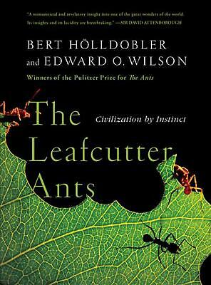 The Leafcutter Ants: Civilization by Instinct by Bert Holldobler (English) Paper