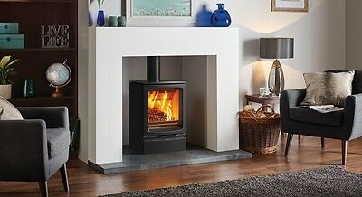 Stovax Vogue Midi Wood Burning Only Stove With Stand Brand New And Boxed