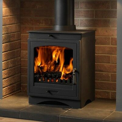 Helios 8 Defra Approved Multi Fuel Woodburning Stove Brand New And Boxed