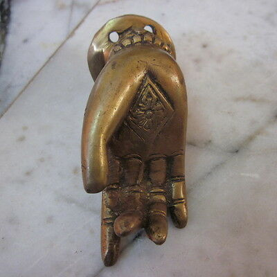 Antique Door wardrobe Handles Knob Brass Cupboard Puller Hang Vintage Right Hand