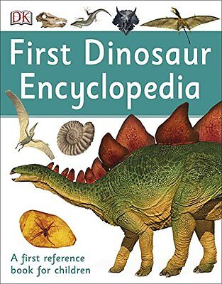 First Dinosaur Encyclopedia First Reference Paperback