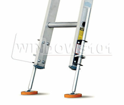 Ladder-Leg-Levelers-Kit-Safety-Stabilizers-Non-Slip-Rubber Feet Uneven Surfaces