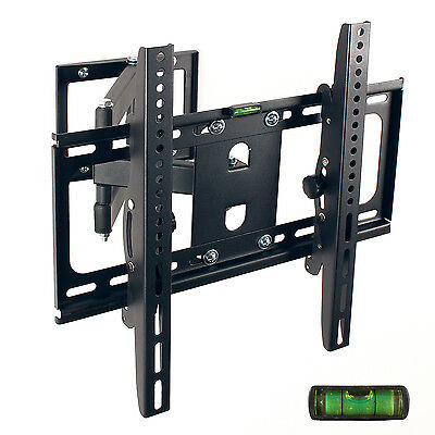 "Support Tv Mural Orientable Inclinable Pivotant Mureaux Lcd Ecrans Plats 26""-55"""