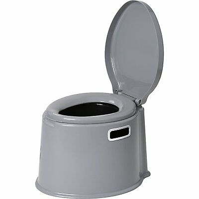 Berger Toiletteeimer Camping WC mobile Reisetoilette 7Liter ohne Chemie tragbar